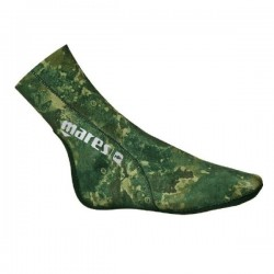CALZARI 3mm MARES CAMO GREEN
