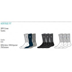 CALZINI CHAMPION 3PP Crew Socks
