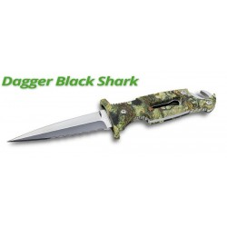 COLTELLO DAGGER BLACK SHARK