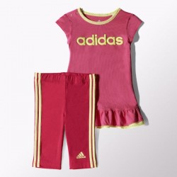 COMPLETINO BABY (T-SHIRT + LEGGINGS) I J DRESS SET