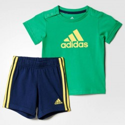 COMPLETINO INFANT (T-SHIRT + BERMUDA) ADIDAS I J FUN SUM SET