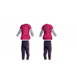 COMPLETO INFANT (T-SHIRT + PANTALONI) ADIDAS I J G DRESS SET