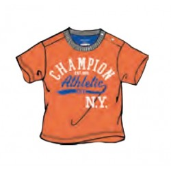 T-SHIRT INFANT CHAMPION ATHLETIC NY