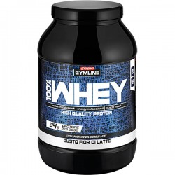 GYMLINE MUSCLE 100% WHEY PROTEIN CONCENTRATE GUSTO FLATTE 900gr