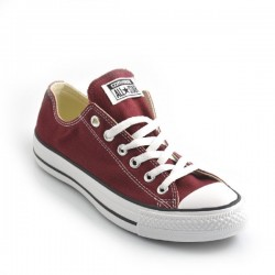SCARPE CONVERSE ALL STAR BORDEAUX BASSE