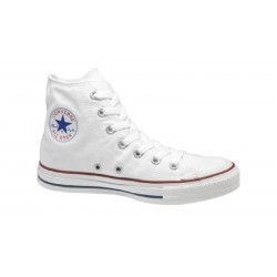 SCARPE JUNIOR CONVERSE ALL STAR HI BIANCHE ALTE