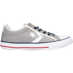 SCARPE JUNIOR CONVERSE ALL STAR PLAYER EV OX GRIGIE BASSE
